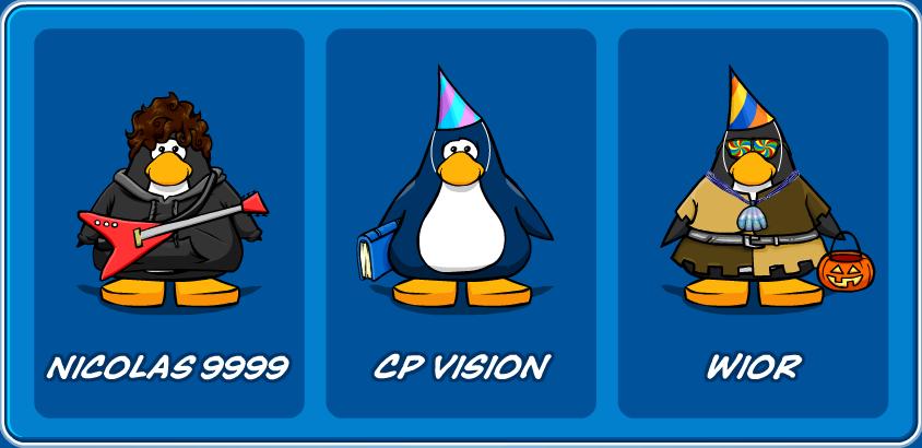 Una foto de mis penguins